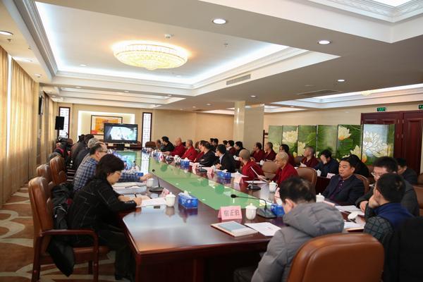 全国政协民宗委调研组一行到中国藏语系高级佛学院调研